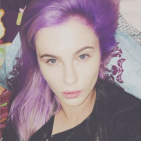 Ireland-baldwin-goes-purple