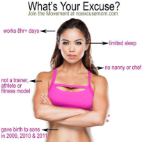 Maria kang whats your excuse photo