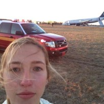 Are plane crash selfies funny or foul?