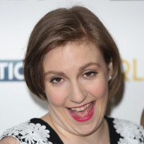 Lena Dunham Red Carpet Pose