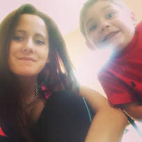 Jenelle and Jace Evans