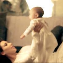 Kim Kardashian Holds Nori