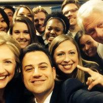 Jimmy kimmel clintons selfie