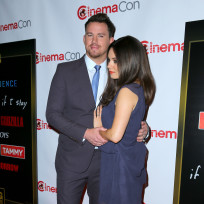 Mila Kunis and Channing Tatum Photo