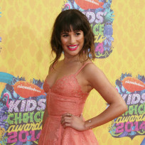 Lea michele kids choice awards
