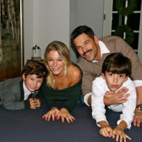 Eddie Cibrian, LeAnn Rimes, Kids
