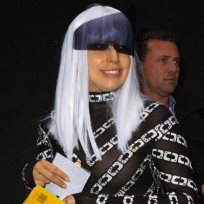 Lady gaga big bangs