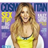 Kaley Cuoco: Cosmo Cover