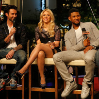 Adam levine shakira and usher