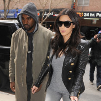 Kimye in The Big Apple