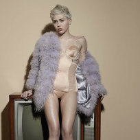 Miley Cyrus Elle Picture
