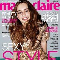 Emilia clarke marie claire cover