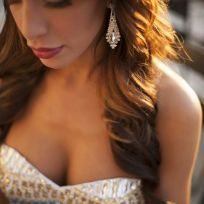 Farrah Cleavage Photograph