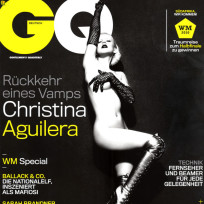 Christina Aguilera: Naked for GQ