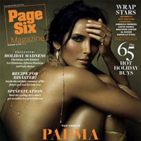 Padma laksmi nude for page six