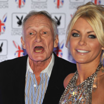 Hugh hefner and crystal harris 60 years