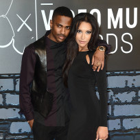 Naya Rivera and Big Sean Pic