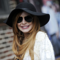 Lindsay Lohan Smiling Photo