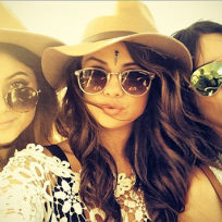 Selena jenners at coachella