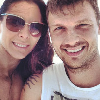 Nick-carter-and-lauren-kitt-photo