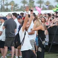 Aaron Paul at Coachella