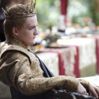 King joffrey purple wedding photo