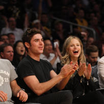 Zac Efron and Halsto Sage Date Photo