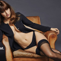 Lake Bell Underwear Photo