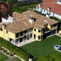 Kim kardashian and kanye wests house