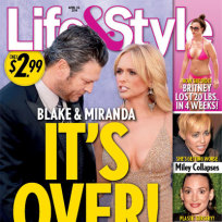 Blake Shelton and Miranda Lambert: Over?