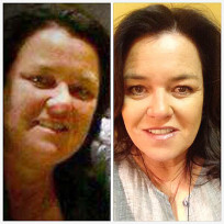 Rosie odonnell weight loss photos