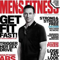 Jon Hamm Men's Fitness Cover