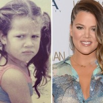 Khloe Kardashian as a Kid