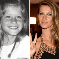 Gisele Bundchen as a Kid