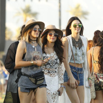 Selena Gomez With Kendall and Kylie Jenner Image