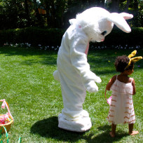 Beyonce and Blue Ivy Easter Photos