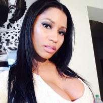 Nicki Minaj Cleavage Selfie