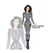 Kim Kardashian Sketch