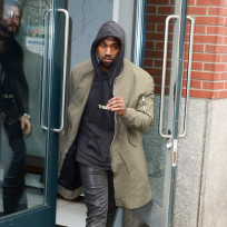 Hooded Kanye West