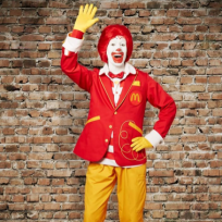 Ronald McDonald New Look