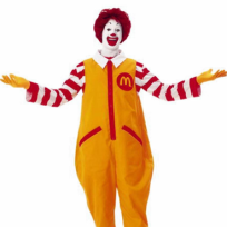Ronald McDonald Old Look