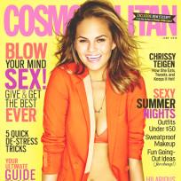 Chrissy Teigen Cosmopolitan Cover