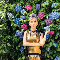 Nicole Richie in Paper Magazine