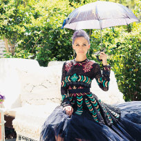 Nicole-richie-umbrella-photo