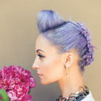 Nicole-richie-flower-photo