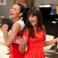 Naya Rivera and Lea Michele Photo