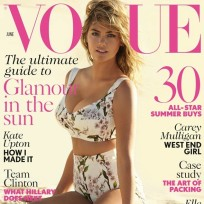 Kate Upton Vogue UK Cover