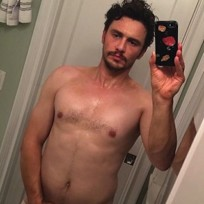 James Franco Revealing Selfie