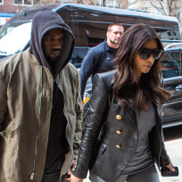 Kimye in Manhattan