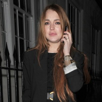 Lindsay lohan drunk in london